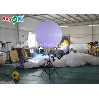 China Inflatable Stand Tripod Balloon Lighting Decoration For Street , Backyard on sale