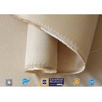 Buy cheap 12HS Silica Fabric Welding Blanket Splash Protection High Silica Cloth Brown from wholesalers