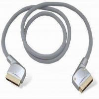 Best Audio/video Cable, Connects with SCART 21-pin to SCART 21-pin Plug wholesale