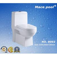 Best Water Closet Siphonic Flushing One Piece Ceramic Toilet (8002) wholesale
