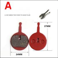 China Semi-metal Disc Brake Clips for MTB Bicycle Disc Brake Pads for SHIMANO Cassette on sale
