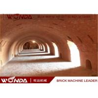 Best Hoffman Brick Tunnel Kiln , Red Clay Brick Making Kiln With Tunnel Dryer wholesale