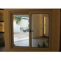 Best 1.6mm profile thickness wood grain aluminum sliding window for residential house wholesale