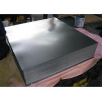 Cheap T4 5 . 6 / 2.8 Tin Coated Steel Sheet / Electrolytic Tinplate T1-T5 Food Grade for sale