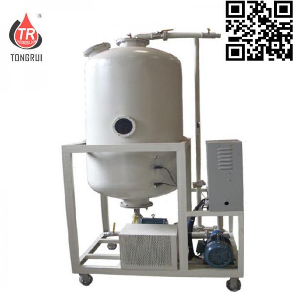 Cheap Hydraulic Oil Decolor Oil Regeneration Equipment , Small Scale Oil Refinery Plant for sale