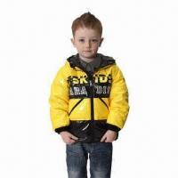 Best Children's winter jacket with detachable hood wholesale
