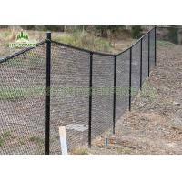 Best Galvanized Chain Link Wire Fence 2.5mm Wire Diameter For Sports Field / School wholesale