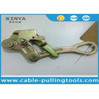 Best Steel Pulling Grip Come Along Clamp For ACSR or AAC , Wire Rope Grip wholesale