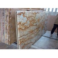 "Tropic Gold Brazilian Granite Island Top / Granite Kitchen Worktops 37"" Eased Edges"