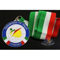 Best Taekwondo Racing Marathion Swiming Custom Sports Medals Soft Enamel Transparents Color wholesale