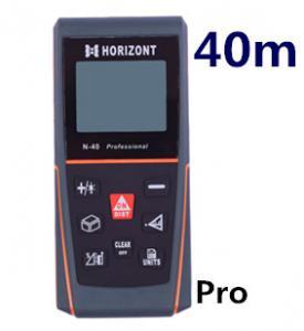 Best 40 m laser distance meter laser rangefinder range finder tape measure tool instrument measurement area volume N-pro40 wholesale