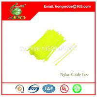 China 4.8mmx250mm Nylon 66 Plastic Bead Cable Wire Zip Ties 500PCS Per Bag on sale