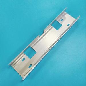 China JIS Tolerance CNC Milling Parts Silver White Anodized Aluminum Alloy Durable on sale