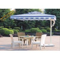 Best Square UV Protection Waterproof Aluminum Side Stand Patio Umbrella wholesale