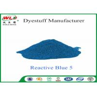 Best Eco Friendly Textile Dyeing Of Cotton With Reactive Dyes C I Reactive Blue 5 wholesale
