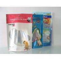 China Food Grade Flexible Packaging Clear Window Pet Food Bags For Baby Dog Food on sale