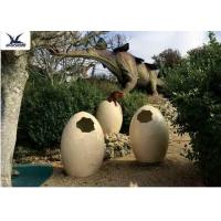 Cheap Animatronic Giant Dinosaur Eggs Models For Jurassic Park Decoration 5 Meters for sale