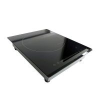 China Fast Cooking 1800W 380mm Single Burner Induction Cooktop on sale