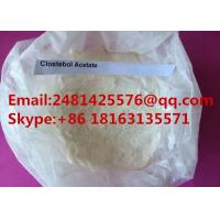 China Raw Steroid Hormone powder Clostebol acetate / Turinabol For Man Muscle Growth on sale
