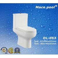 Best S-Trap/P-Trap Two-Piece Toilet for Bathroom Sanitary Wares (DL-053) wholesale
