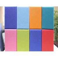 Best Polyester Fabric For Acoustic Panels , KTV / Gym Noise Reduction Panels wholesale