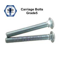 China Carriage Bolt with Mushroom Head and Square Neck Grade2/Grade5 on sale