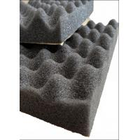 China Egg Shape PU Acoustic Insulation Foam For Building Noise Reducing / Soundproof on sale