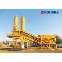 Best Compact Mobile Concrete Batching Plant , Mini Portable Universal Mobile Batching Plant wholesale