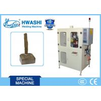 China Carbon Brush Copper Wire Automatic Welding Machine With Automatic Loading System on sale