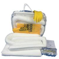 Best 50L oil spill kit, white color oil absorbent spill kit,emergency spill kit, oil cleaning kit wholesale