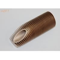 Buy cheap High Heat Exchanging Finned Copper Tubing for Water Boiler / Gas Wall Hanging Heater product