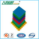 Best PP Installation Rubber Interlocking Floor Mats For Tennis / Basketball Court wholesale