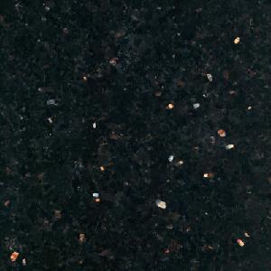 Cheap Black Galaxy Granite Tiles (Black Galaxy) for sale