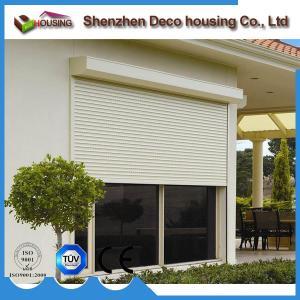 Best Rolling shutter type manual/automatic operation aluminum roller shutter door wholesale