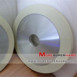 Ceramic bond diamond grinding wheel for natural diamond  1A1  gina@moresuperhard.com