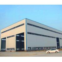 Best GB Hot Rolled Steel Prefabricated Steel Structure Metal Storage Shed wholesale