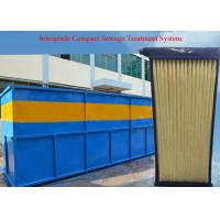 Best Residential Sewage Reuse , Industrial Wastewater Treatment Plant MBR Membrane System Equipment wholesale