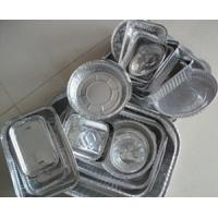 Best Thin Disposable aluminium foil food containers Double Bright Side wholesale