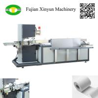 China Automatic small toilet paper band saw cutting machine for sale on sale