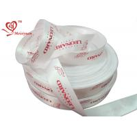 Best Silk Screen Decorative personalized favor ribbons 25mm For Perfume wholesale