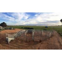 China 2.1*1.8m Full Welded Corral Fence Panels Hot Dipped Galvanized For Cattle Horse on sale