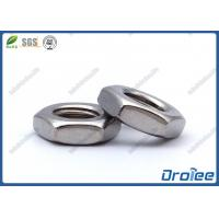 Best 18-8/304 Stainless Steel Thin Hex Jam Nut wholesale