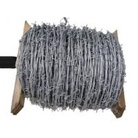 China Electric Galvanized Barbed Wire; Hot-dip zinc plating barbed wire on sale