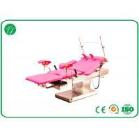 Best customized Red medical exam beds , stainless steel surgical tables with electric linak motors wholesale