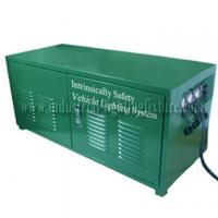 China Green Rechargeable 6A 24V Industrial Lighting Fixture / Power Distribution Box For LED light on sale