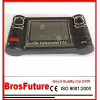 Best Two-channel Synchronous video Dual Camera Car Dvr with High Speed Recording 1280*720 Pixes wholesale