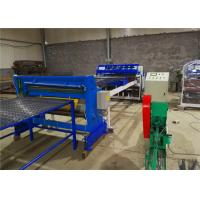 China Semi - Automatic Welded Mesh Machine with Wire Straighten and Cutting Machine on sale