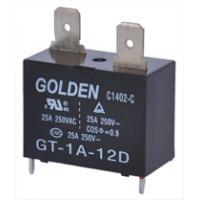 China GT-1A-12D 25A 12 Volt Latching Relay for AutomaticControlDevice on sale