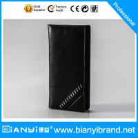 Best Factory Customized multi-function leather wallet 2015 wholesale