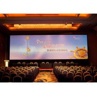 China 64*32 Real Estate Agented 6mm Led Display Board , 1/16 Scan High Brightness Led Screen on sale